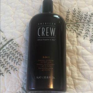 American crew 3-1 shampoo